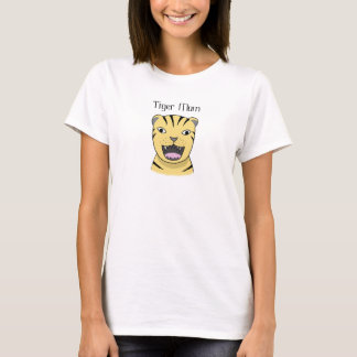 Tiger Mom Angry Tiger Mother Big Cat Funny Mom T-Shirt
