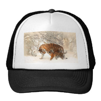 Tiger Mother and baby Trucker Hat
