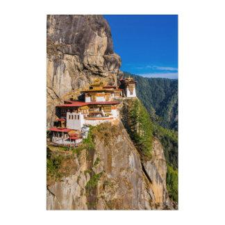Tiger Nest Monastery Acrylic Wall Art