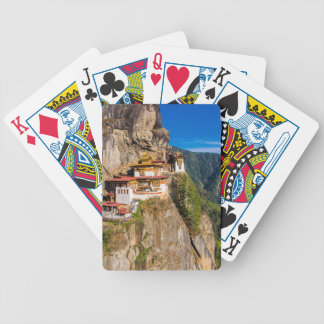 Tiger Nest Monastery Bicycle Playing Cards
