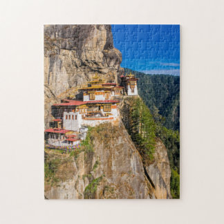 Tiger Nest Monastery Jigsaw Puzzle