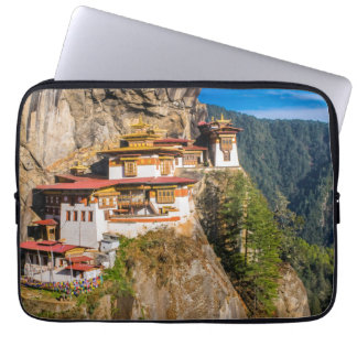 Tiger Nest Monastery Laptop Sleeve