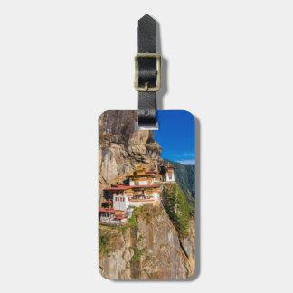 Tiger Nest Monastery Luggage Tag