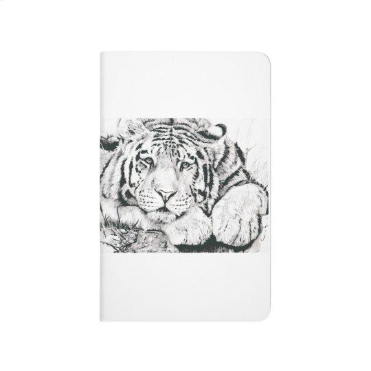 Tiger notebook journals