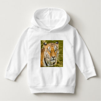 tiger on Toddler  Pullover Hoodie
