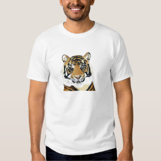 tiger paint tee-shirts