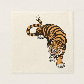 tiger paper napkins
