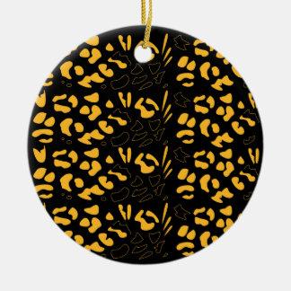 Tiger pattern eco ceramic ornament