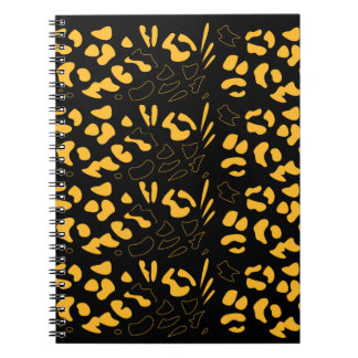 Tiger pattern eco notebooks