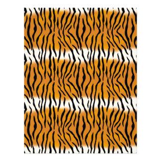 Tiger Pattern Letterhead