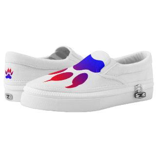 Tiger Paw Custom Zipz Slip On Shoes,  Men & Women