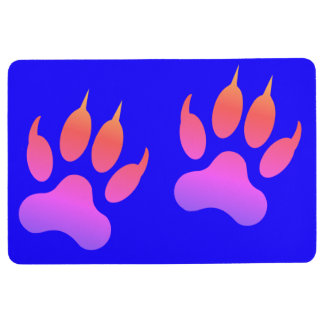 Tiger Paws Floor Mat