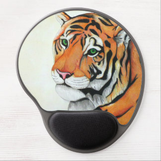 Tiger (Pencil by Kimberly Turnbull Art) Gel Mouse Pad