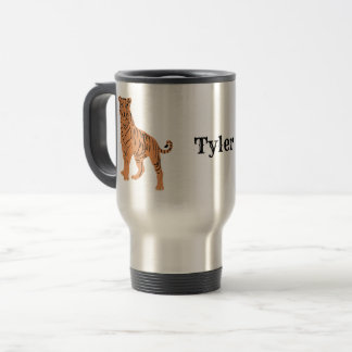 Tiger Personalized Travel Mug