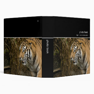 Tiger · Photo Book Vinyl Binder