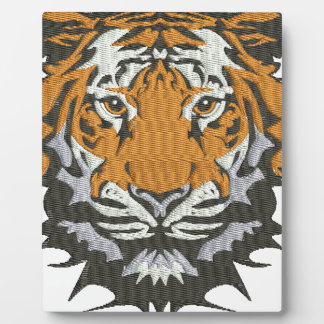 tiger plaque