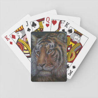 tiger playing cards