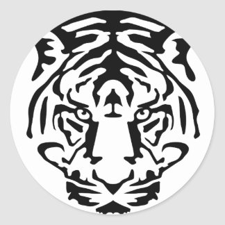 tiger.png classic round sticker