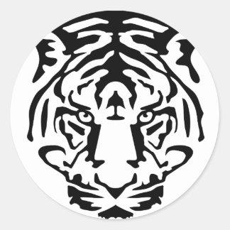 tiger.png round sticker