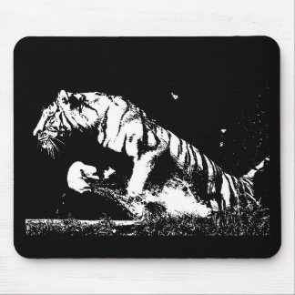 Tiger Pop Art Mouse Pad