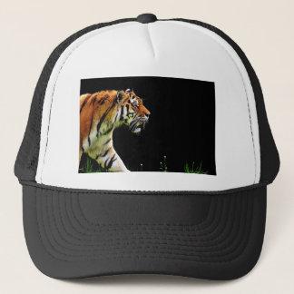 Tiger Predator Fur Beautiful Dangerous Cat Trucker Hat