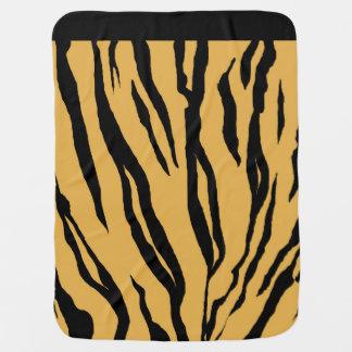 Tiger Print Baby Blanket