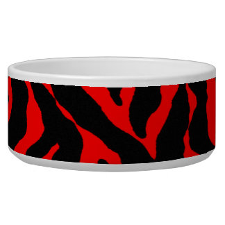 Tiger Print Dog Dish for that wild pet