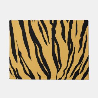 Tiger Print Door Mat