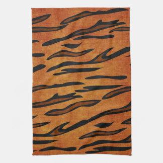 TIGER PRINT KITCHEN TOWEL