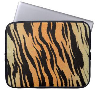 Tiger Print Laptop Sleeve