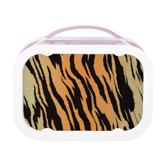 Tiger Print Lunch Boxes