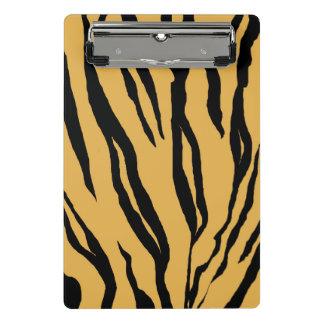 Tiger Print Mini Clipboard