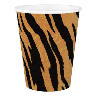 Tiger Print Paper Cup