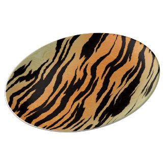 Tiger Print Plate