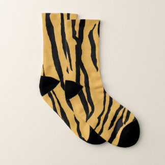Tiger Print Socks