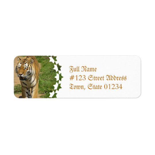 Tiger Prowl Mailing Labels