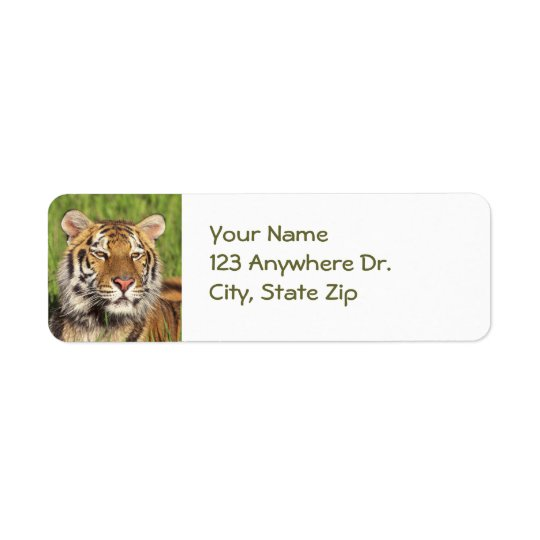 Tiger Return Labels