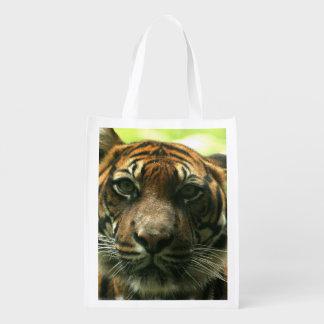 Tiger Reusable Grocery Bag