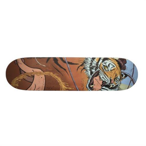 Tiger Ringmaster Skate Board Deck