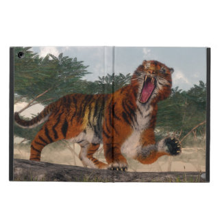 Tiger roaring - 3D render Case For iPad Air