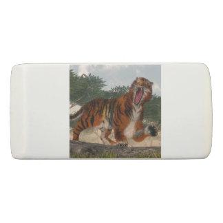 Tiger roaring - 3D render Eraser