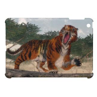 Tiger roaring - 3D render iPad Mini Cover
