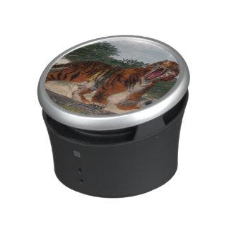 Tiger roaring - 3D render Speaker