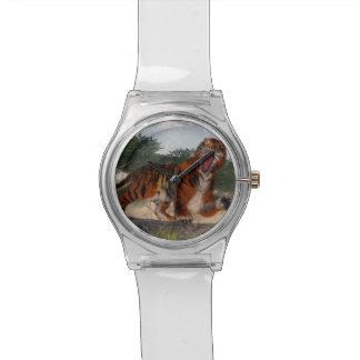Tiger roaring - 3D render Watches