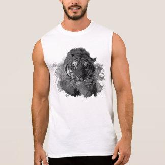 Tiger running sleeveless shirt