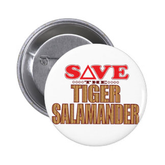 Tiger Salamander Save 2 Inch Round Button