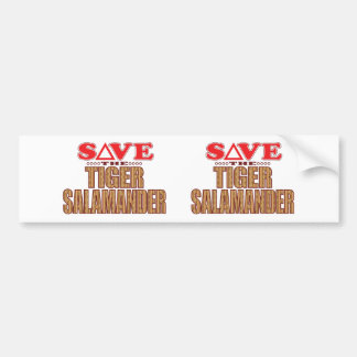 Tiger Salamander Save Bumper Sticker