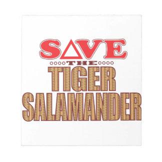 Tiger Salamander Save Notepads