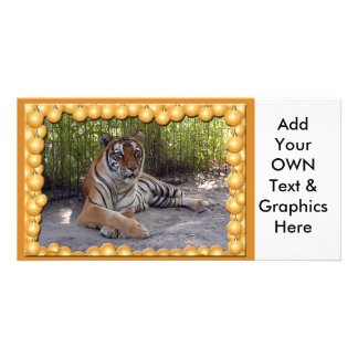 Tiger Sarmoti-c-1 copy Custom Photo Card