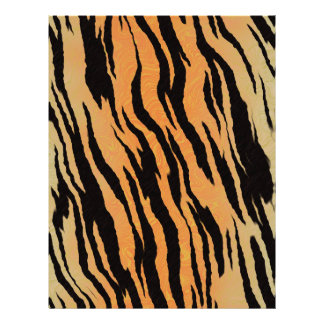 Tiger seamless pattern texture background letterhead